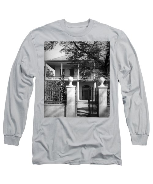 Gated Colonial Home Long Sleeve T-Shirt