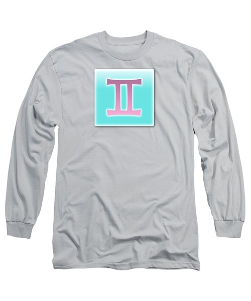 Gemini May 20 - June20 Long Sleeve T-Shirt