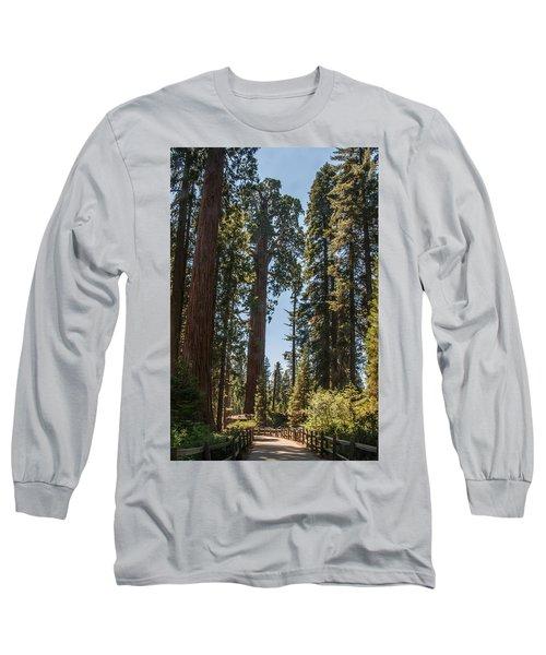 General Grant Tree Kings Canyon National Park Long Sleeve T-Shirt