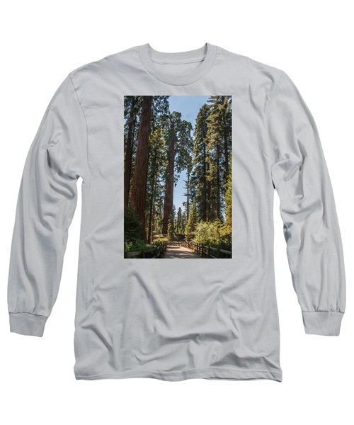 General Grant Tree Kings Canyon National Park Long Sleeve T-Shirt