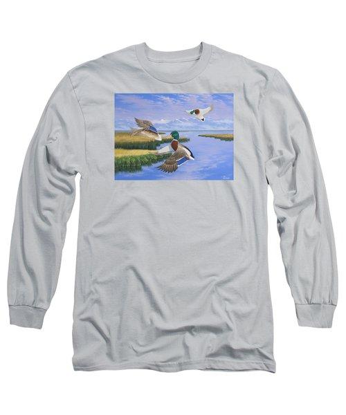 Gentle Landing Long Sleeve T-Shirt