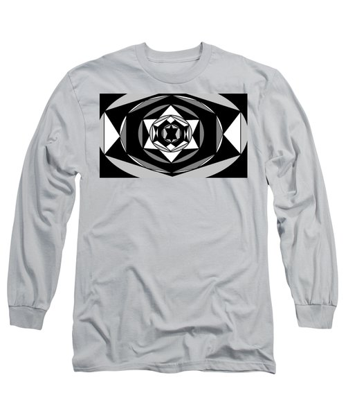 'geometric 1' Long Sleeve T-Shirt