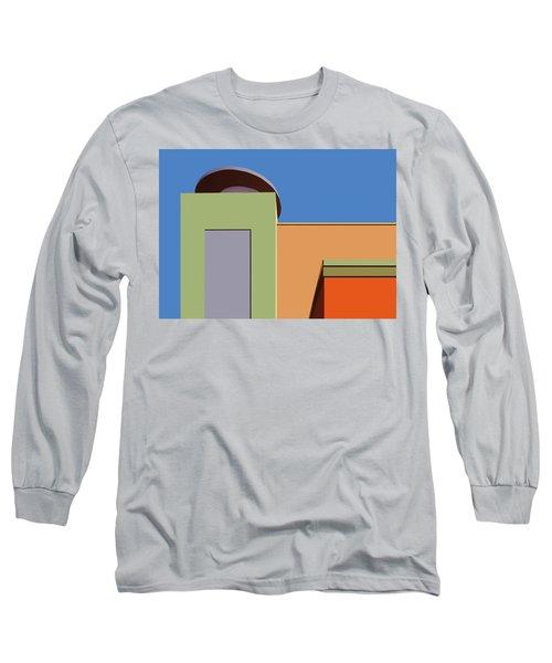 Geometry 101 Long Sleeve T-Shirt by Nikolyn McDonald
