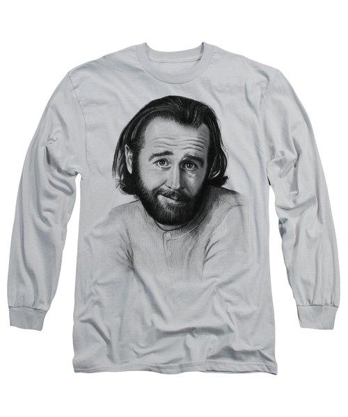 George Carlin Portrait Long Sleeve T-Shirt