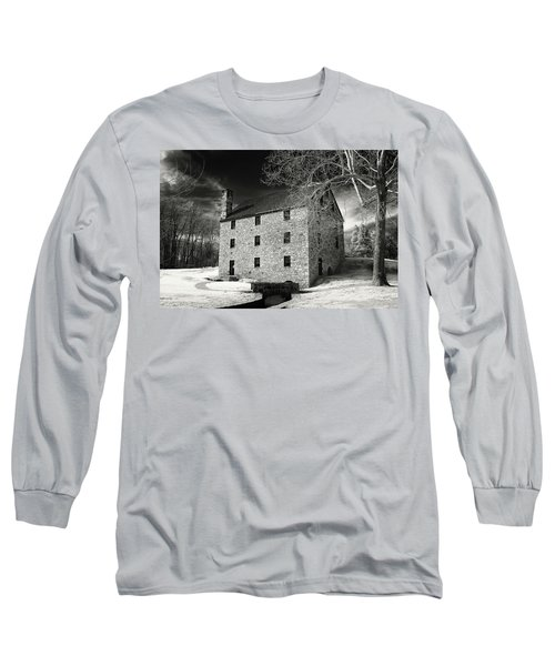 George Washingtons Gristmill Long Sleeve T-Shirt
