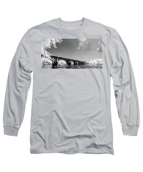 Gervais Street Bridge In Ir1 Long Sleeve T-Shirt