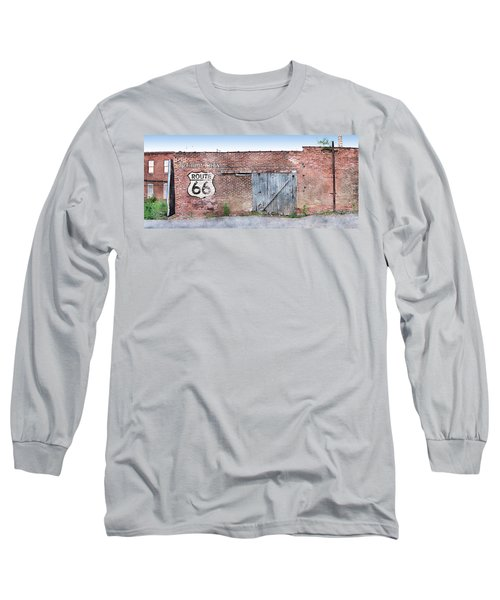 Long Sleeve T-Shirt featuring the digital art Get Your Kicks by Sandy MacGowan