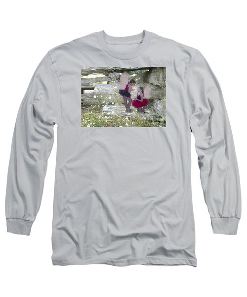 Getting Her Wings Long Sleeve T-Shirt