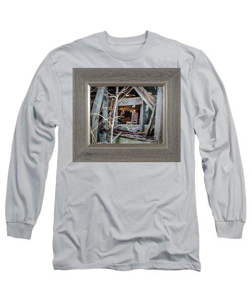 Ghost Chair Long Sleeve T-Shirt