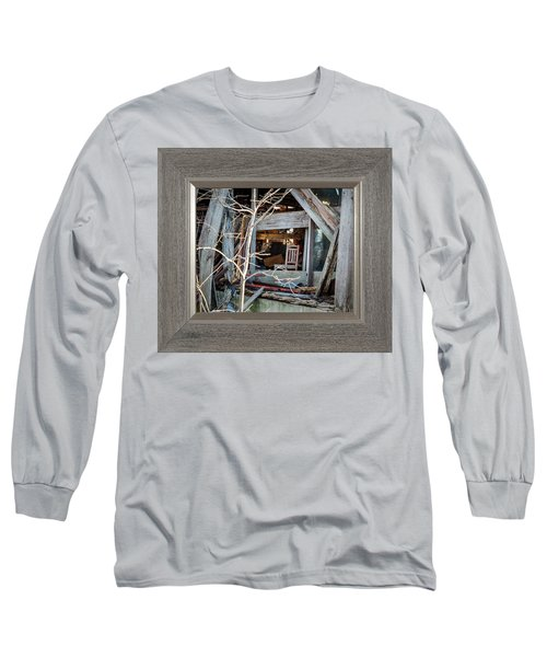 Ghost Chair Long Sleeve T-Shirt