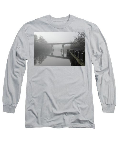 Ghost River Long Sleeve T-Shirt by Gordon Mooneyhan