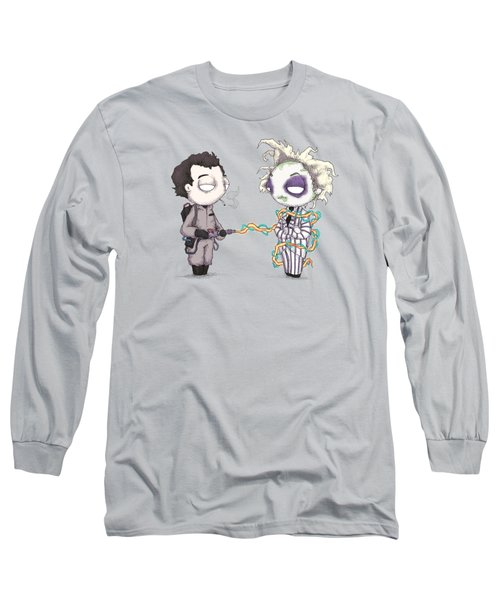 Ghost With The Most Long Sleeve T-Shirt