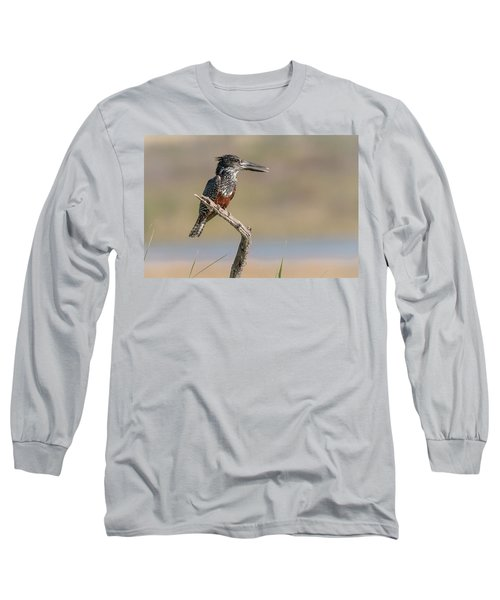 Giant Kingfisher Long Sleeve T-Shirt