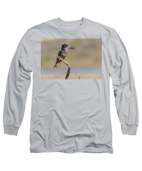 Giant Kingfisher Long Sleeve T-Shirt