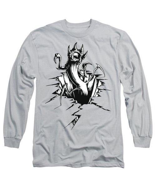 Giant Worm Long Sleeve T-Shirt