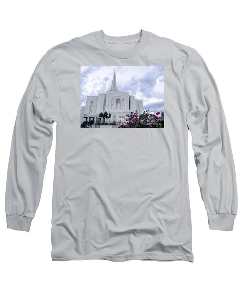 Gilbert Arizona Lds Temple 2 Long Sleeve T-Shirt