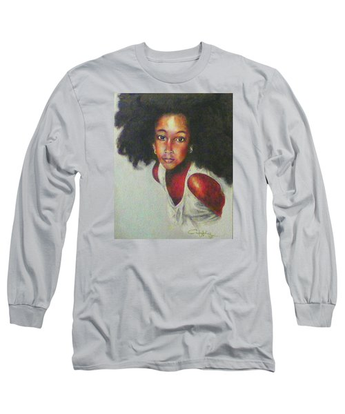 Girl From The Island Long Sleeve T-Shirt by G Cuffia