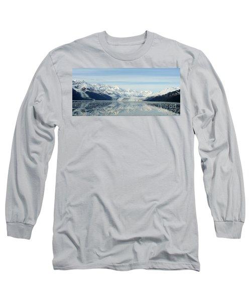 Glacier Bay Reflections Long Sleeve T-Shirt by Susan Lafleur