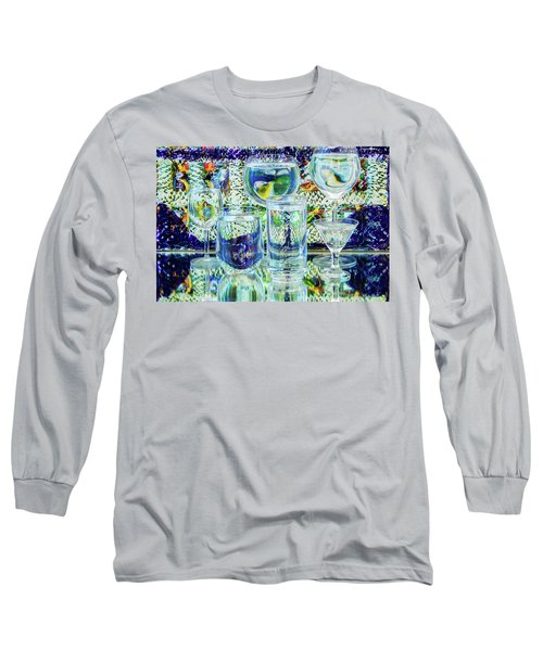 Glass Blues Long Sleeve T-Shirt