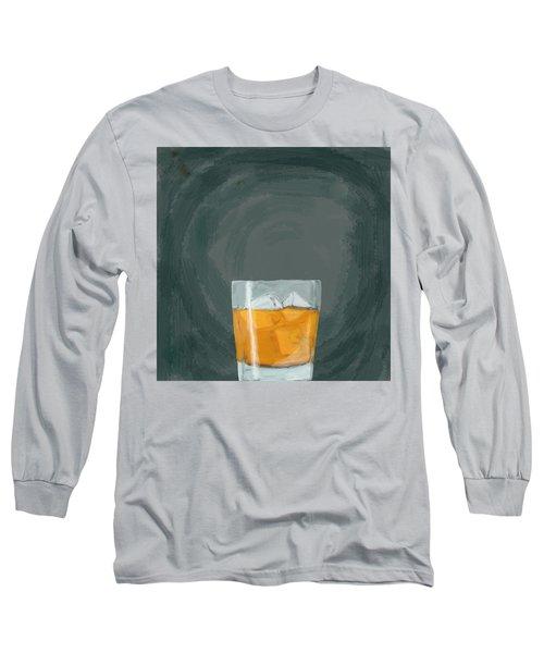 Glass, Ice,  Long Sleeve T-Shirt by Keshava Shukla