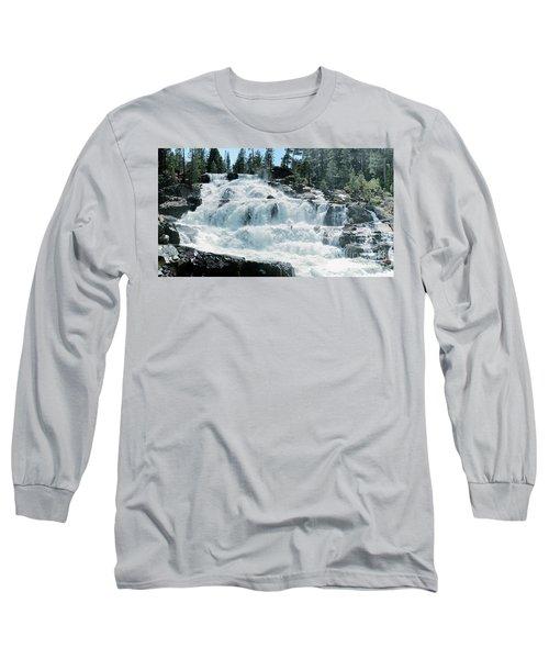 Glen Alpine Falls Mist Long Sleeve T-Shirt