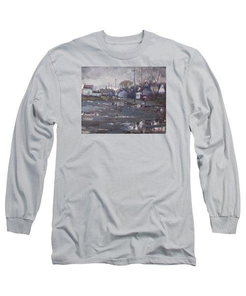Gloomy And Rainy Day By Hyde Park Long Sleeve T-Shirt