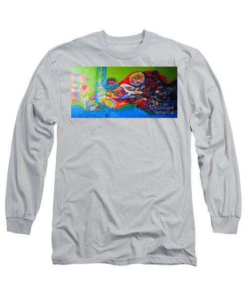 Glory Of Harmony Long Sleeve T-Shirt by Sanjay Punekar