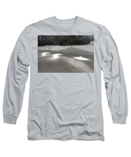 Glowing Landscape Lighting Long Sleeve T-Shirt