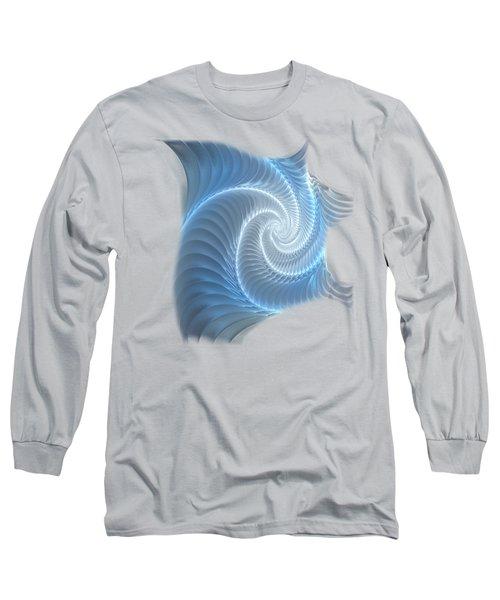 Glowing Spiral Long Sleeve T-Shirt
