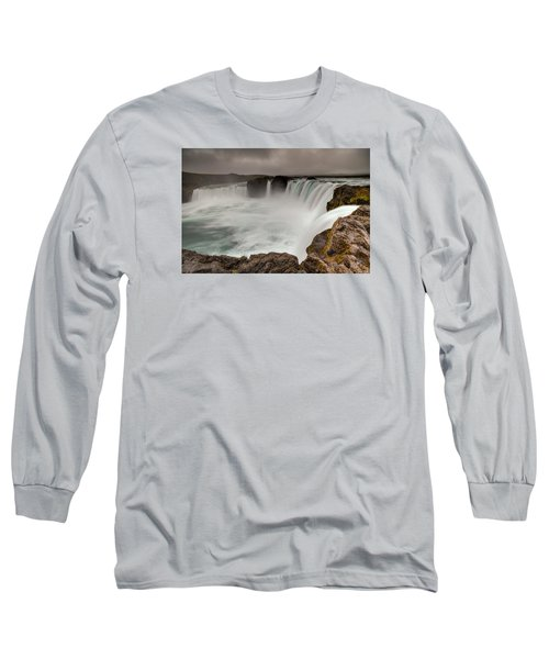 Godafoss Long Sleeve T-Shirt by Brad Grove