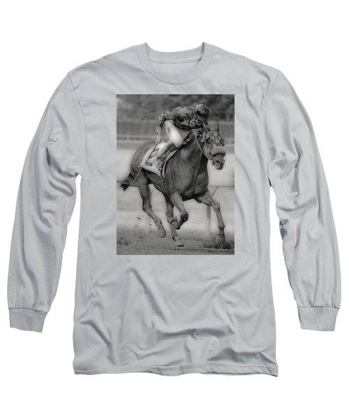 Going For The Win Long Sleeve T-Shirt by Lori Seaman