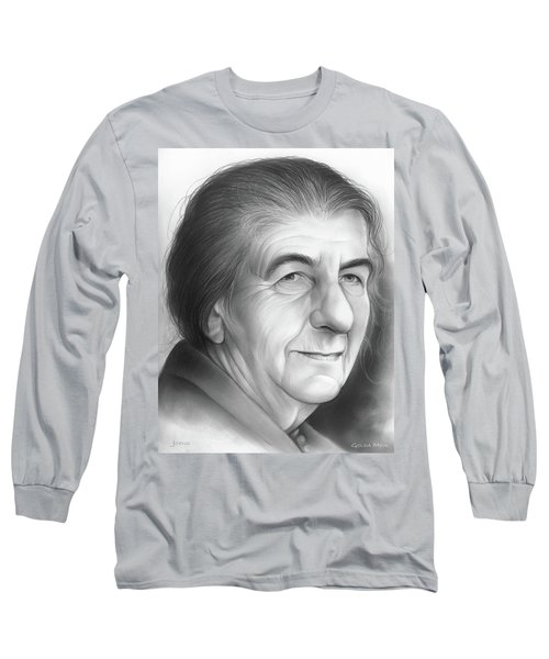 Golda Meir Long Sleeve T-Shirt