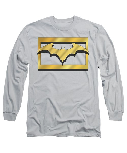 Golden Bat Long Sleeve T-Shirt by Chuck Staley