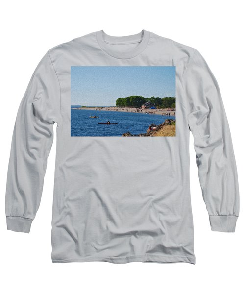 Golden Gardens In Seattle Washington Long Sleeve T-Shirt