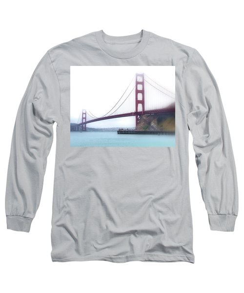 Golden Gate Bridge Long Sleeve T-Shirt by Laura DAddona
