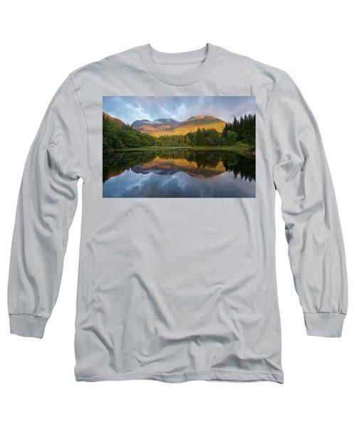 Golden Light At The Torren Lochan Long Sleeve T-Shirt