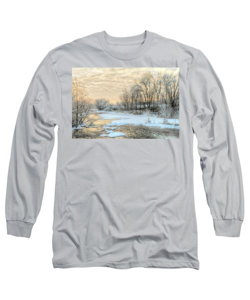 Golden Sunrise Signed Long Sleeve T-Shirt