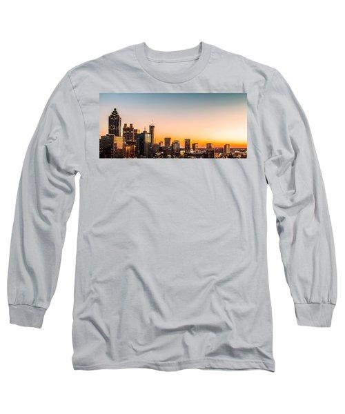 Golden Sunset Long Sleeve T-Shirt