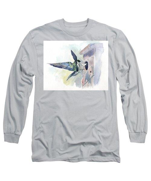 Golden Swallow Long Sleeve T-Shirt