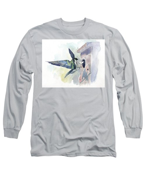 Golden Swallow Long Sleeve T-Shirt