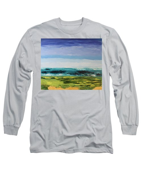 Golf Long Sleeve T-Shirt by Geeta Biswas