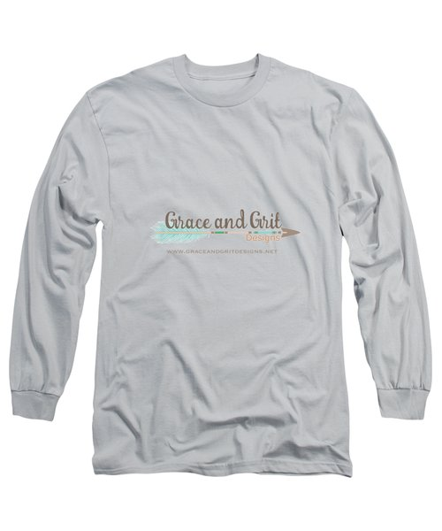 Grace And Grit Logo Long Sleeve T-Shirt by Elizabeth Taylor