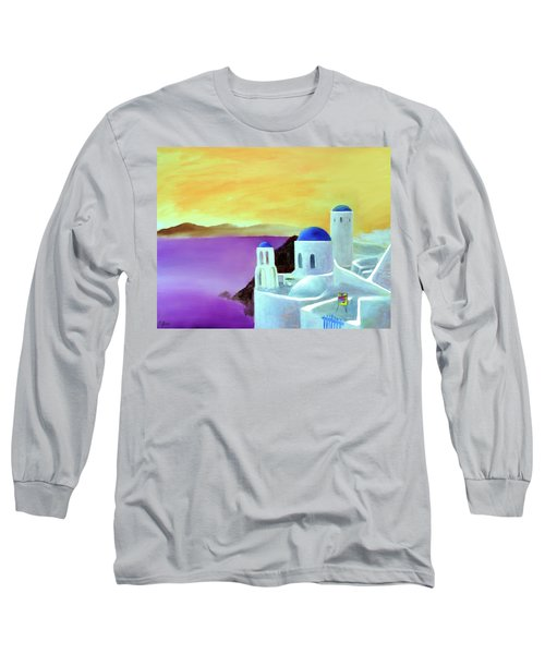 Grandeur Of Greece Long Sleeve T-Shirt