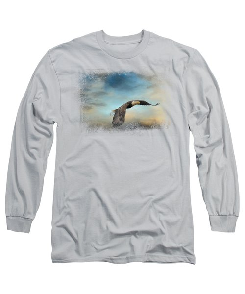 Grass Before The Storm Long Sleeve T-Shirt by Jai Johnson