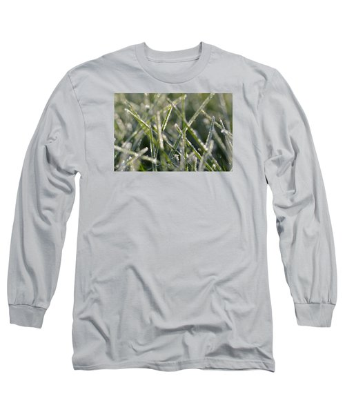 Grass Bokeh Long Sleeve T-Shirt