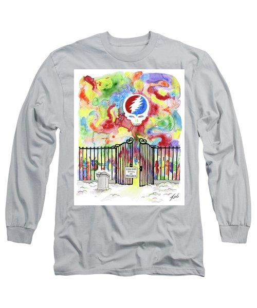 Grateful Dead Concert In Heaven Long Sleeve T-Shirt