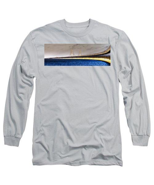 Great Belt Bridge Long Sleeve T-Shirt