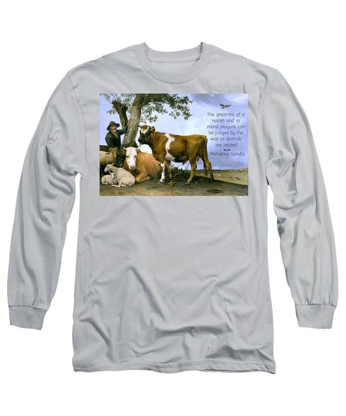 Greatness Of A Nation Long Sleeve T-Shirt