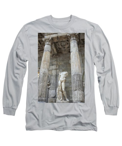 Long Sleeve T-Shirt featuring the photograph Greek Statue by Patricia Hofmeester