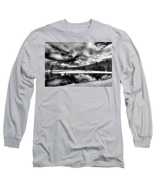Long Sleeve T-Shirt featuring the photograph Green Bridge Solitude by David Patterson